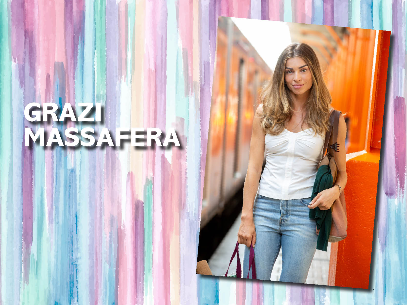 Grazi Massafera – Hair countour com suave movimento