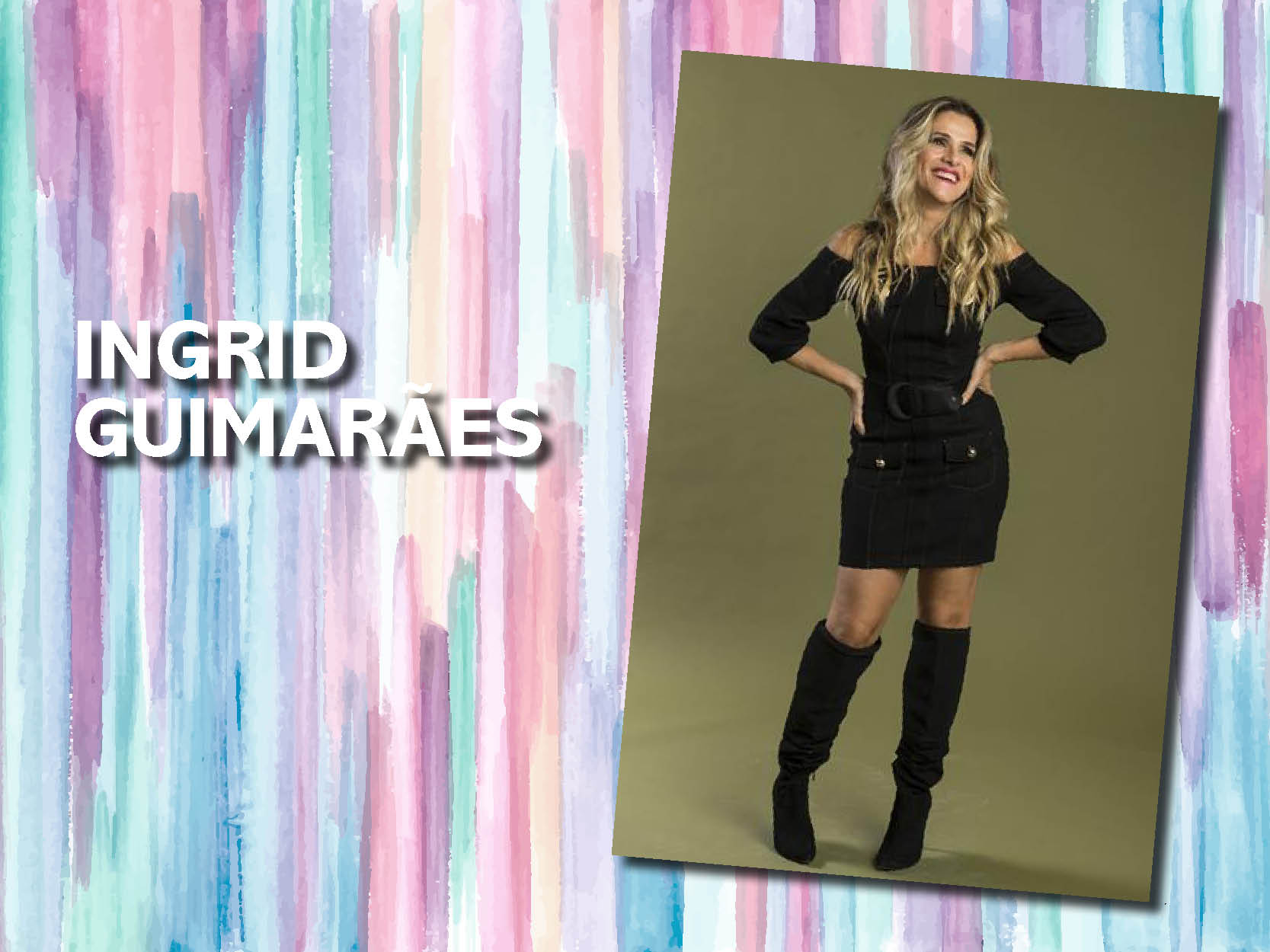 Ingrid Guimarães – Beach Waves